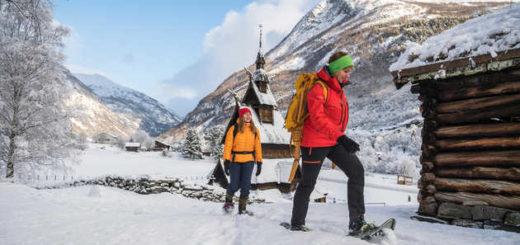 Schneeschuhwandern in Norwegen - SCANOUT.COM - Copyright SCANOUT.COM