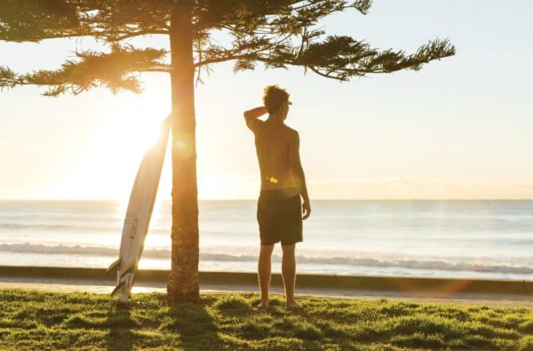 Surfer in Sydney