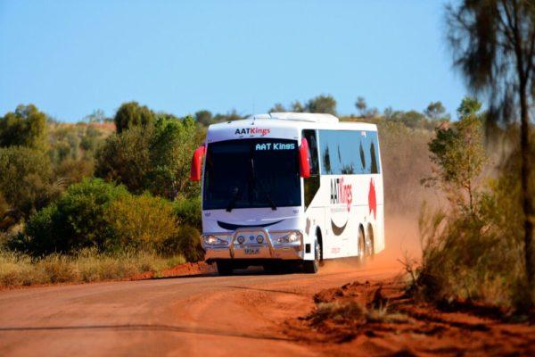 AAT Kings Busfahrt