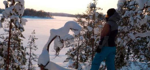 Schneeschuhwanderung am Saimaa-See - Hotel & Spa Resort Järvisydän
