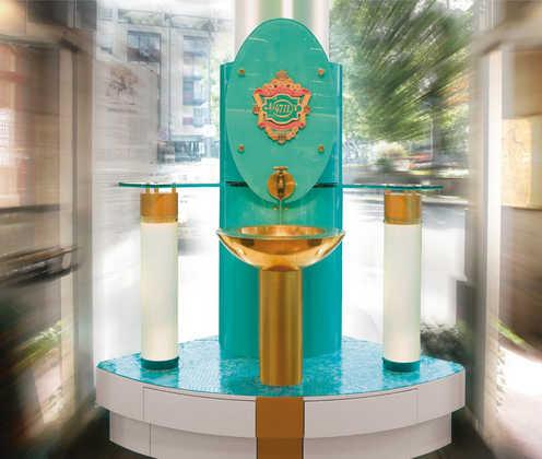 Parfümbrunnen im 4711 Haus - MÄURER & WIRTZ GmbH & Co. KG - ©Köln Tourismus GmbH/MÄURER & WIRTZ GmbH & Co. KG