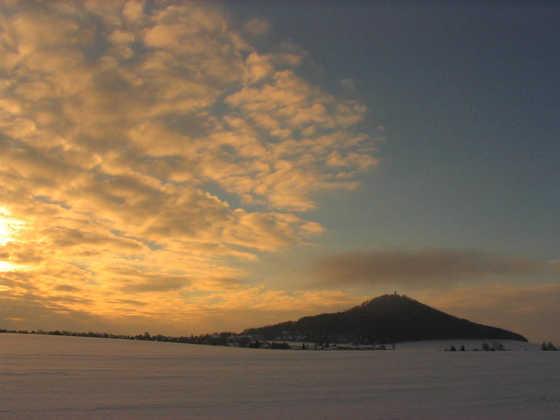 Landeskrone im Winter - Roswitha Henning - © Roswitha Henning