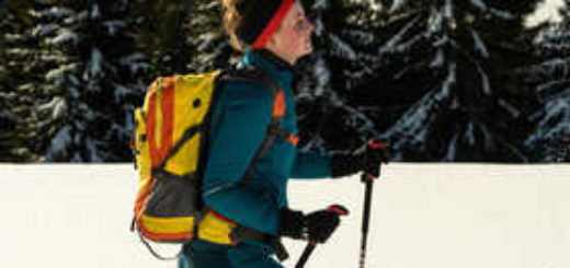 Aktiv im Schnee - Dominik Ketz