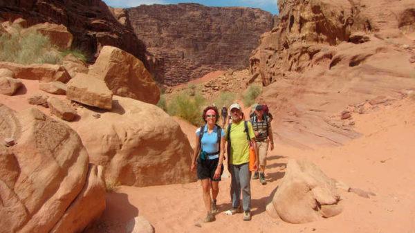 Wanderung durch die Wadi Rum - Stefan Bahr