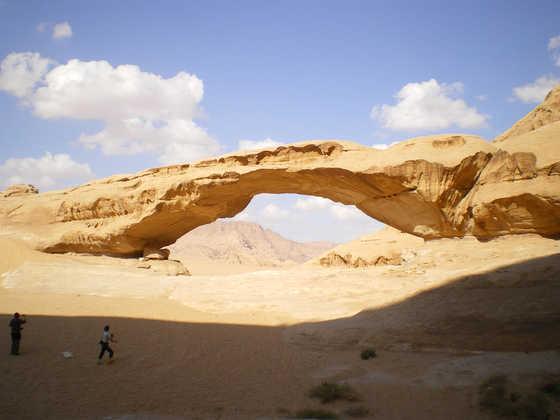 Felsbrücke im Wadi Rum - Sascha Thom