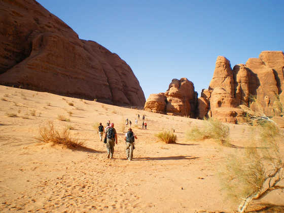 Wanderung im Wadi Rum - Sascha Thom