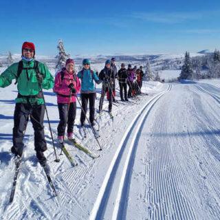 Vergnügen beim Skilanglauf - Marion Süß