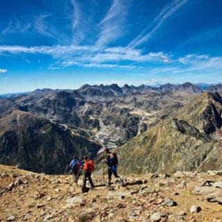 Wanderer im Hochgebirge - Andorra Turisme