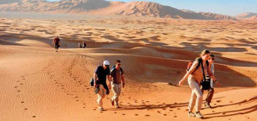 Wüstenwanderung in der Rub Al Khali - Eugen Rombach