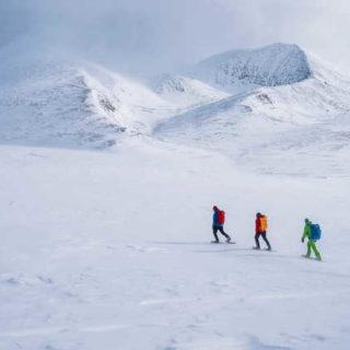 Auf Schneeschuhen durch den Rondane-NP - - © Mountains of Norway