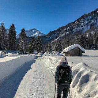 Auf dem Weg zum Fellhorn - Dennis Gowitzke