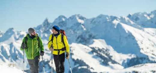 Aktiv in den winterlichen Alpen - Dominik Ketz