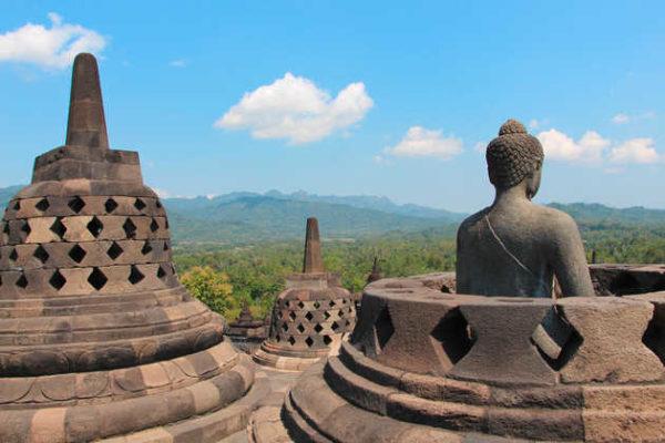 Borobudur Tempel - A. Kirsten