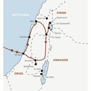 Kompakte Rundreise zu den Highlights von Israel