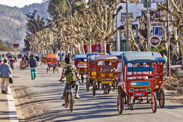 Erkundung Antananarivos per Rikscha - Paul Sutton