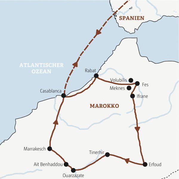 Marokko Rundreisen 2016 / 2017
