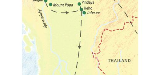 Die wichtigsten Sehenswürdigkeiten Myanmars