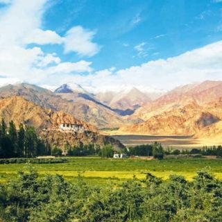 Landschaft in Ladakh - Edda Grönhoff