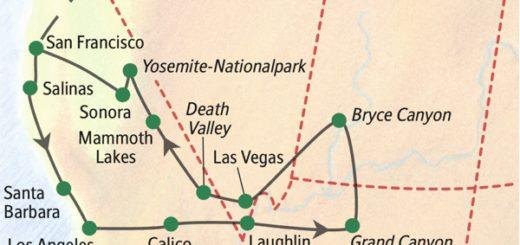 Metropolen und Nationalparks im Westen der USA