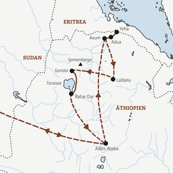 Äthiopien Rundreisen 2016 / 2017