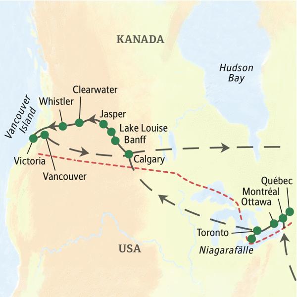 Kanada Reisen 2021