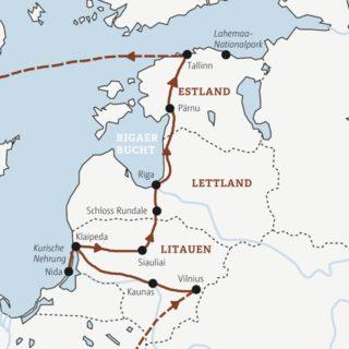 Rundreise durchs Baltikum: Lettland