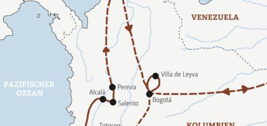 14-tägige Rundreise durch Kolumbien von den Anden zur Karibik