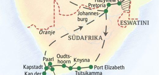 In zwei Wochen zu den Höhepunkten Südafrikas inklusive Safari im Krügerpark