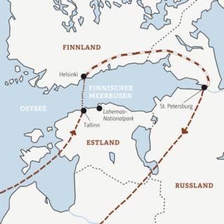 In zehn Tagen rund um den Finnischen Meerbusen