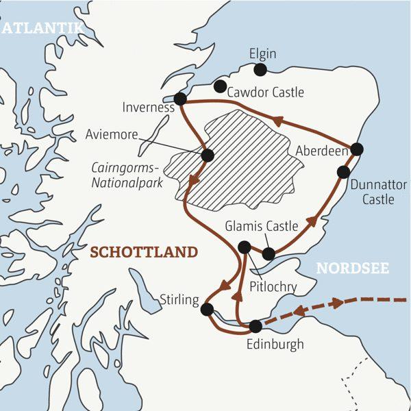 Grossbritannien – Schottland Rundreisen junge Leute 2019