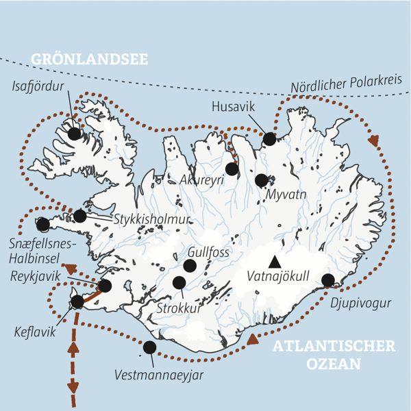 Island Rundreisen junge Leute 2019