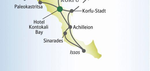 Entdecken Sie die Highlights von Korfu zusammen mit anderen weltoffenen Singles und Alleinreisenden