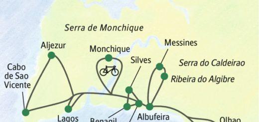 Die Algarveküste aktiv erleben
