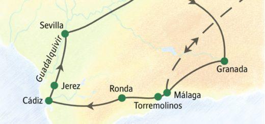 Die Höhepunkte Andalusiens in zehn Tagen entspannt erleben