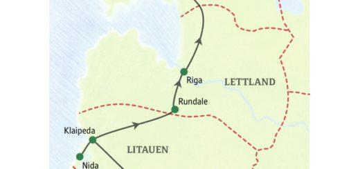 Zehntägige Studienreise ins Baltikum mit den drei Hauptstädten Vilnius