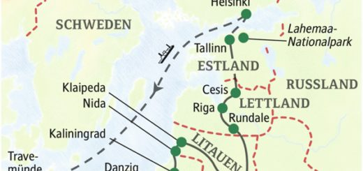 15-tägige umfassende Studienreise durch das Baltikum