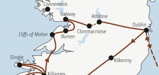 Zwölf Tage Irland für Traveller zwischen 20 und 35: mit dabei auch viele Singles und Alleinreisende Young Traveller