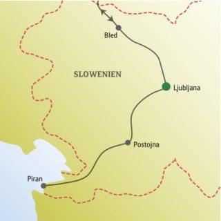 Silvester feiern mit anderen weltoffenen Singles und Alleinreisenden in der slowenischen Hauptstadt Ljubljana