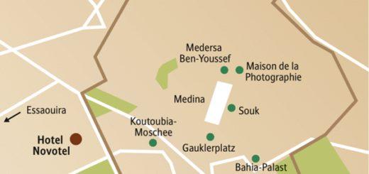 Die Höhepunkte von Marrakesch an Silvester mit anderen weltoffenen Singles und Alleinreisenden erleben