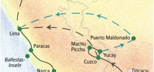 Die Höhepunkte Perus kompakt in zwei Wochen erleben