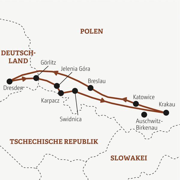 Polen Rundreisen 2016 / 2017