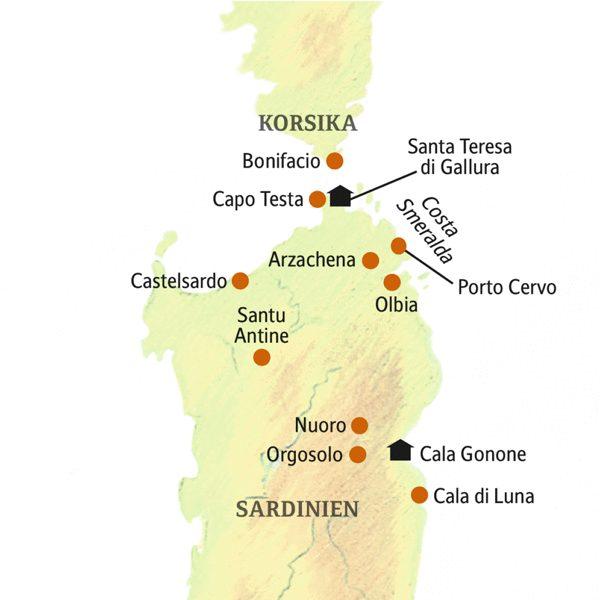 Sardinien deutschsprachig gefuehrte Studienreisen 2019