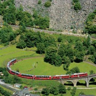 Schweiz – Bernina und Glacier Express deutschsprachig gefuehrte Studienreisen 2021    Tinta Tours Erlebnisreisen