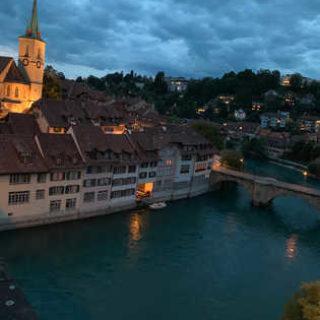 Abendstimmung in Bern - Miriam Zakaria