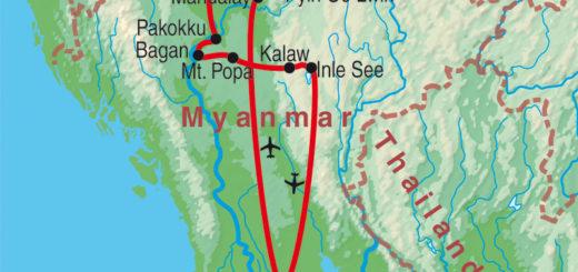 Gruppenreise Magische Momente - Myanmar erleben