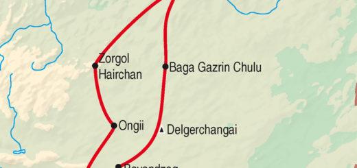 Gruppenreise Wüstenschiffe in der Gobi