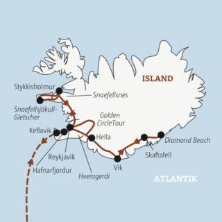 In 11 Tagen zu Islands Highlights: von Reykjavik nach Süden zum Skaftafell-Nationalpark und nach Norden zur Halbinsel Snaefellsnes