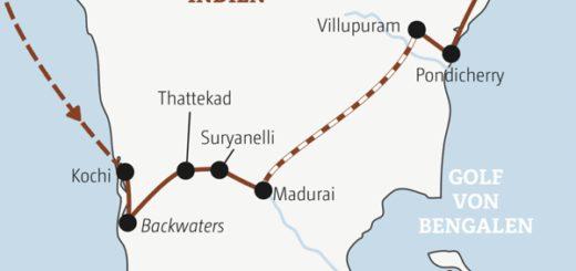 16 Tage vom Indischen Ozean zum Golf von Bengalen: Abwechslung pur in Südindien Young Traveller ab 35J.