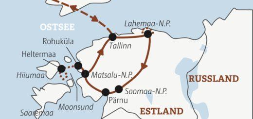 Aktiv draußen in der Natur: 10-tägige Abenteuerreise in der Wildnis Estlands mit viel Spaß beim Wandern