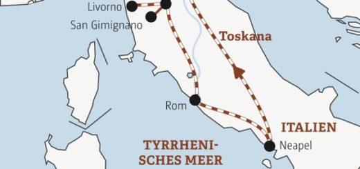 Zwölftägige Abenteuer-Bahnreise mit allen Highlights von Nord- bis Süditalien Young Traveller